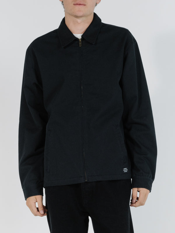 Minimal Thrills Work Jacket - Black