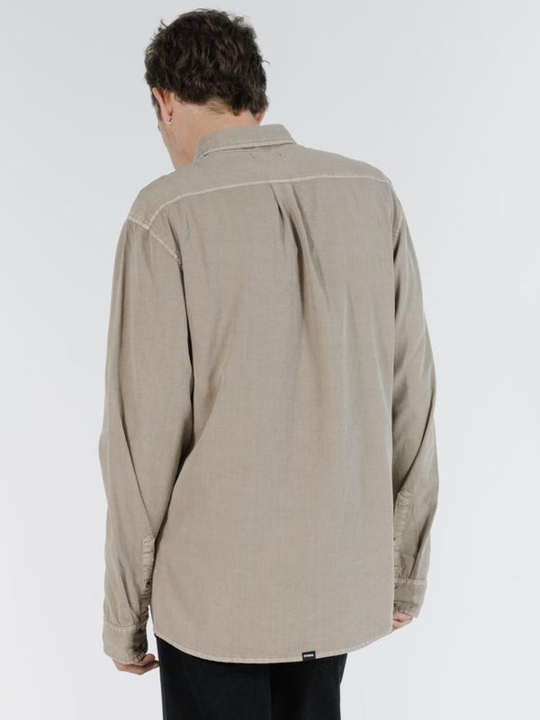 Far East & Beyond Long Sleeve Shirt - Desert