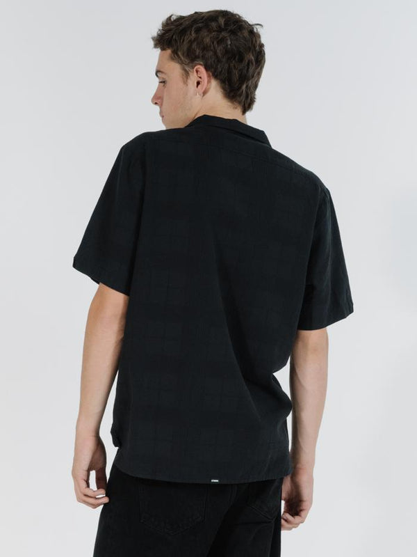 Republic Bowling Shirt - Black