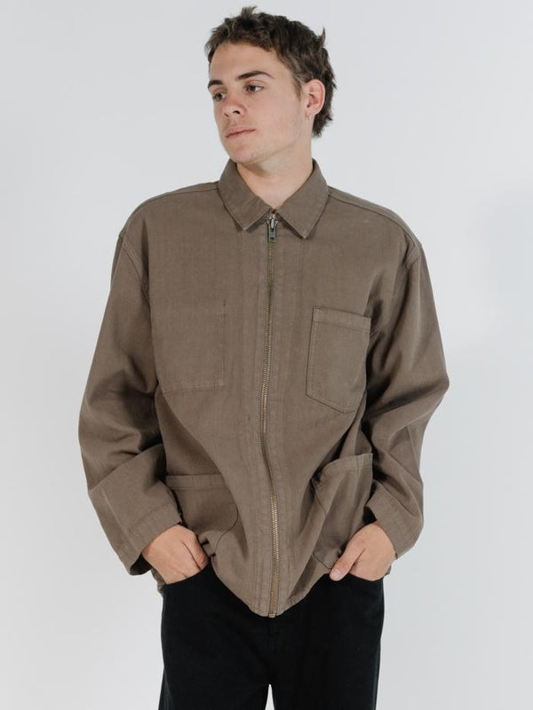 Work Shop Jacket  - Desert