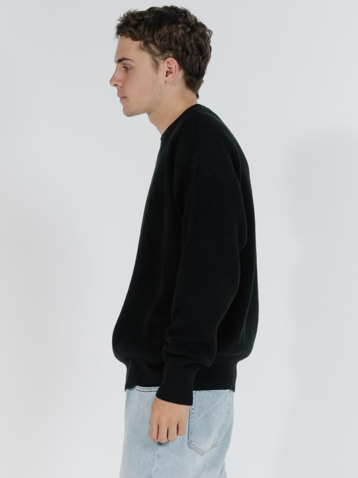 Republic Crew Knit - Black