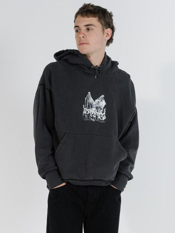 Havoc Slouch Pull On Hood - Merch Black