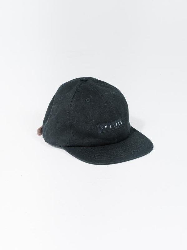 Thrills Classic Patch Cap - Black