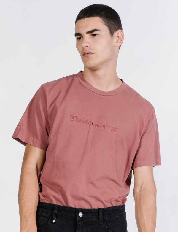 Tonal Service Merch Fit Tee - Faded Red