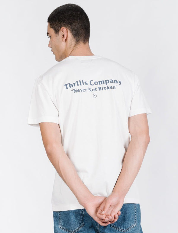 Strictly Thrills Tee - White
