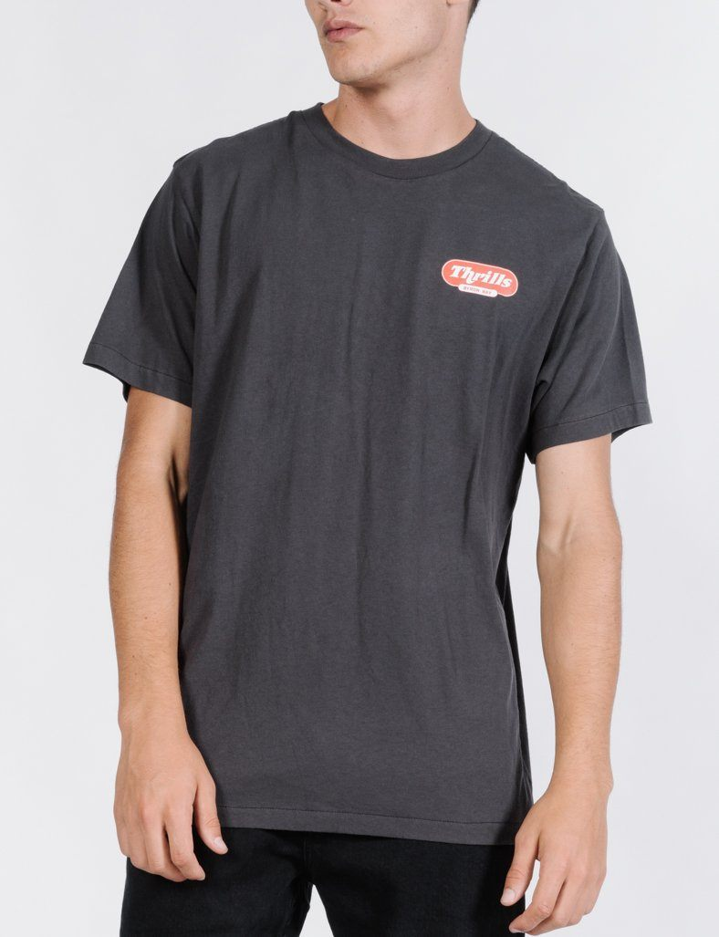 Thrifty Merch Fit Tee - Merch Black