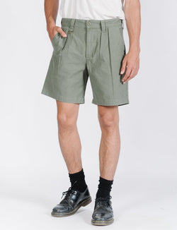 Deploy Pleated Military Short - Jungle Army