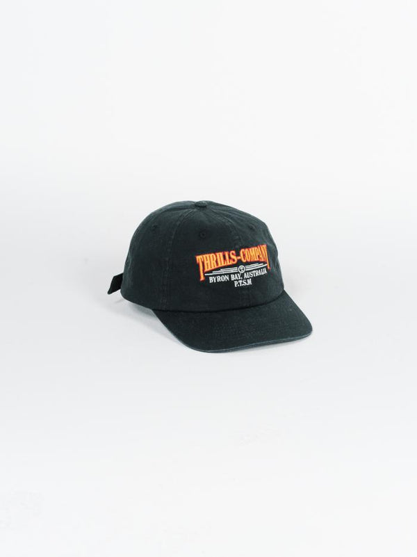 Underline Cap - Merch Black