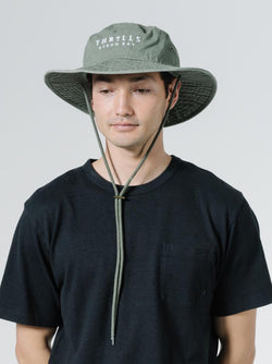 Palmed Thrills Boonie Hat - Army Green