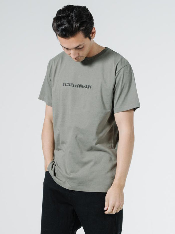 Formation Merch Fit Tee - Army Green