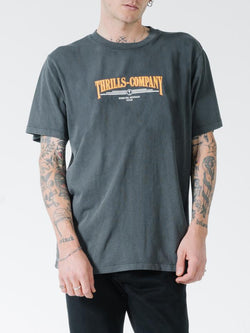 Underline Merch Fit Tee - Merch Black