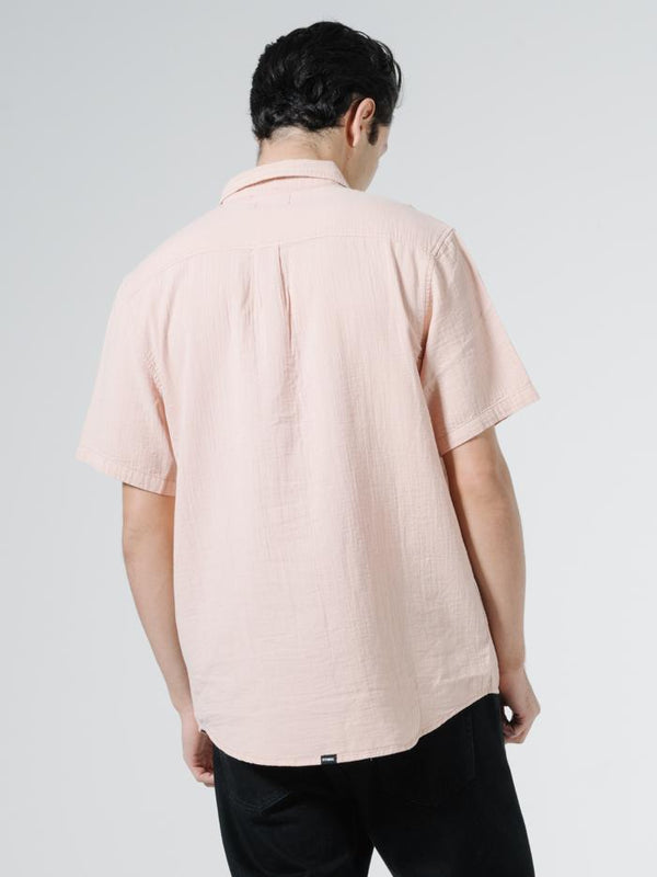 Dril Short Sleeve Shirt - Cork Fade