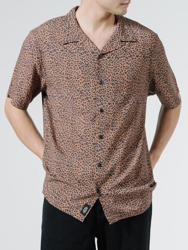 Panthera Bowling Shirt - Mustang Brown