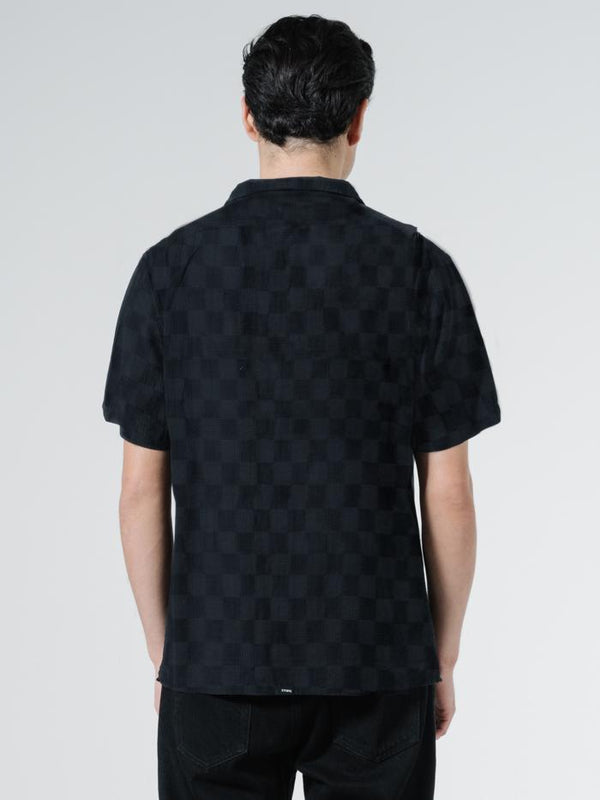 Infinite Bowling Shirt - Black