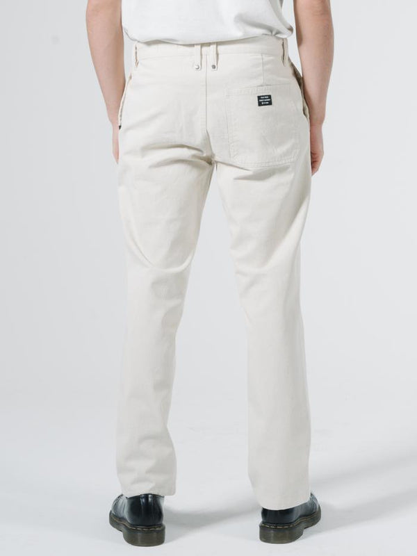Minimal Thrills Work Chopped Chino - Unbleached