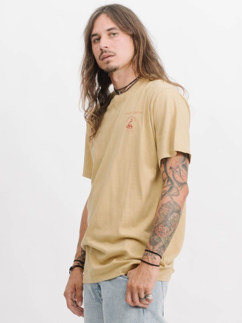Never Not Broken Merch Fit Tee -  Heritage Yellow
