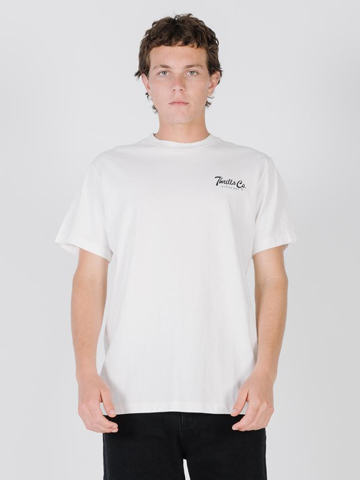 Ink Merch Fit Tee - White