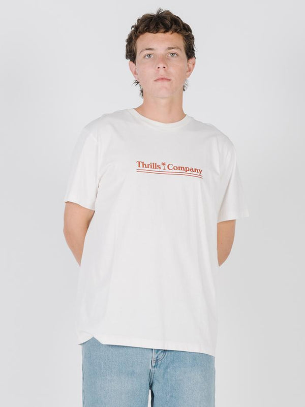 Stranded Merch Fit Tee - Egret
