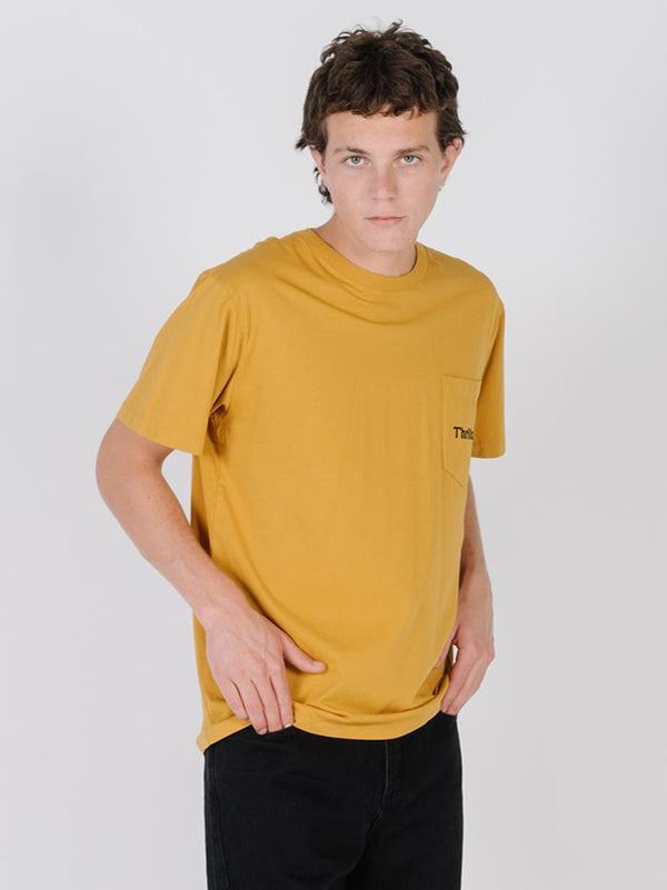 Free Bird Merch Fit Pocket Tee - Sunlight Yellow