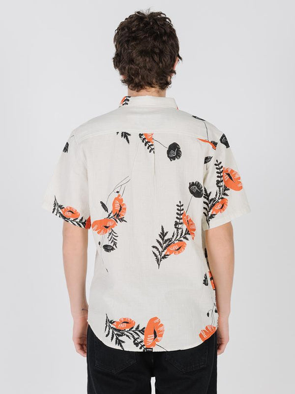 Utopian Paradise Short Sleeve Shirt - Calico