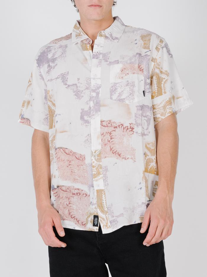 New Fast Short Sleeve Shirt - Dirty White