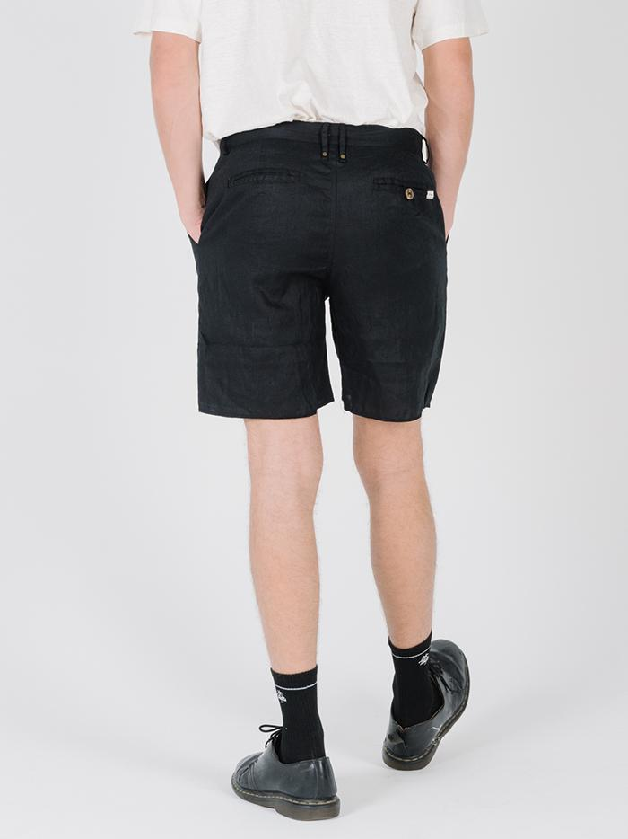 In Sense Chopped Chino Short - Washed Black