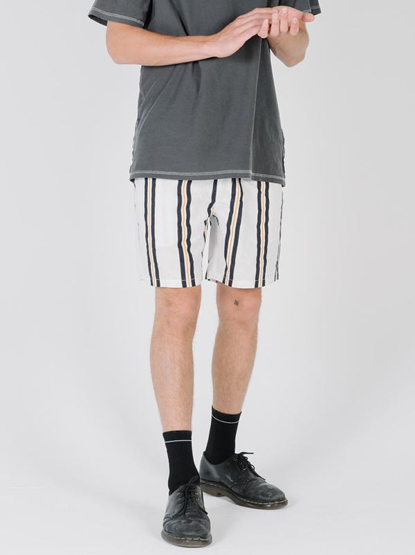 Thrills Design Vertical Stripe Volley - Egret