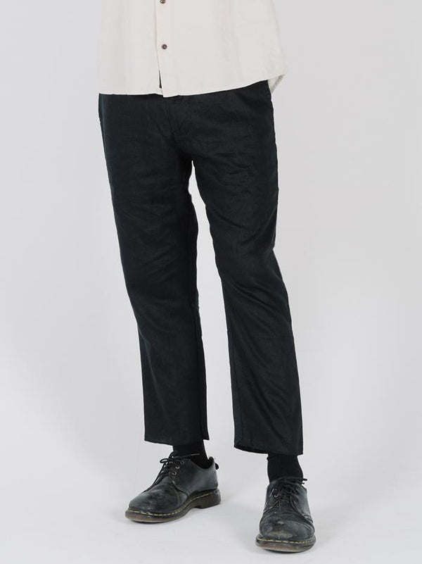 In Sense Chopped Chino - Washed Black