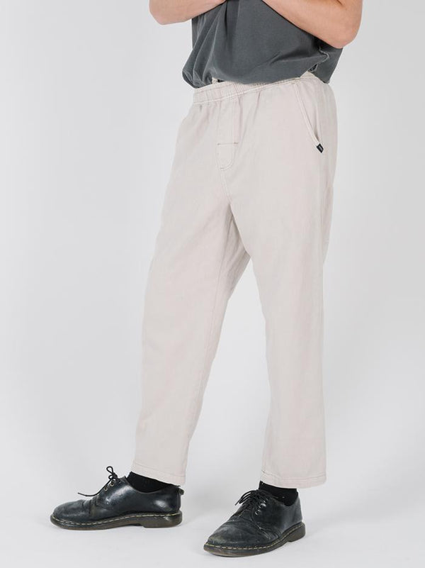 Fader Chopped Elastic Surf Pant - Bone