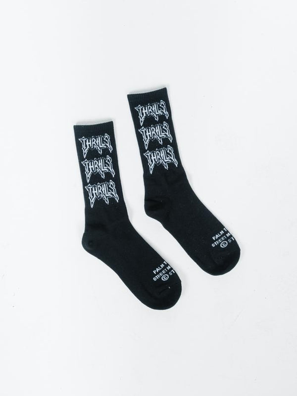 What We Believe Sock - Black