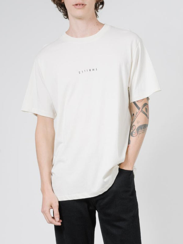 Minimal Thrills Merch Fit Tee - Unbleached