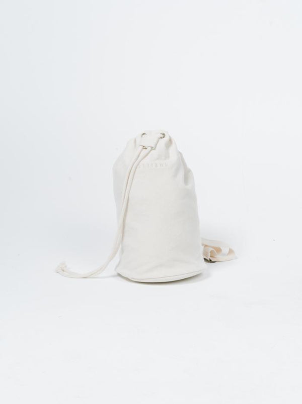 Minimal Thrills Drawstring Bag - Unbleached