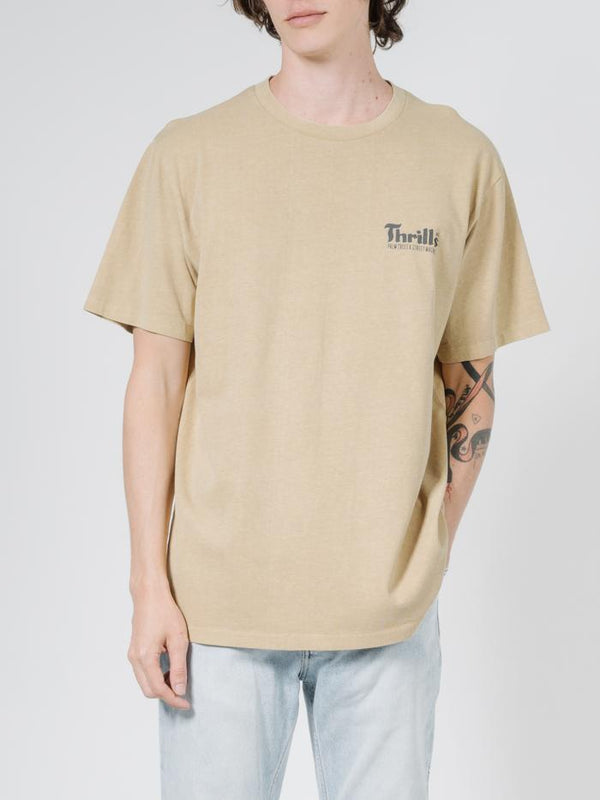 Wellness Merch Fit Tee - Faded Gold