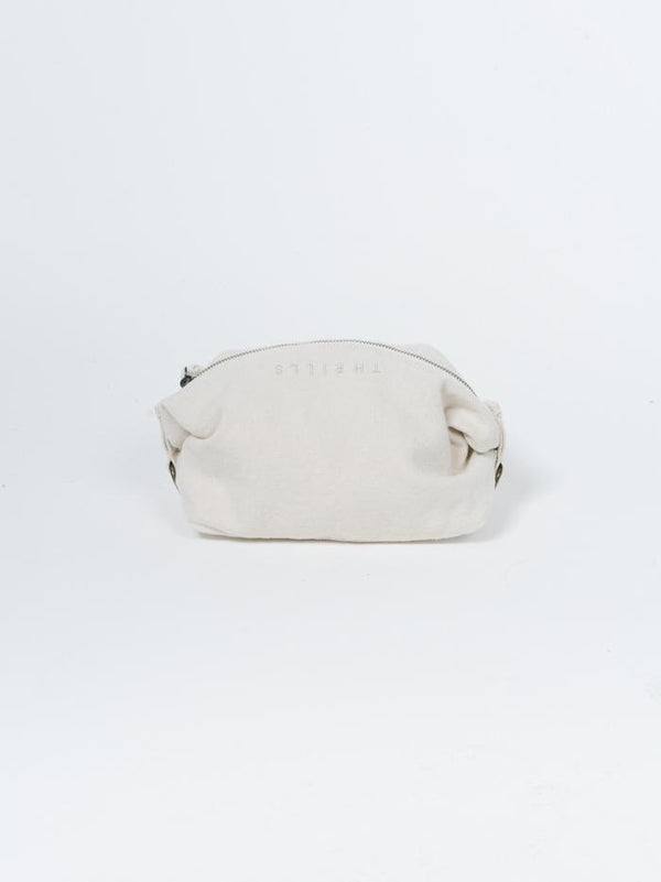 Minimal Thrills Wash Bag - Unbleached