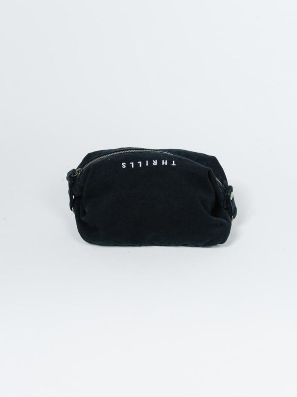 Minimal Thrills Wash Bag - Black