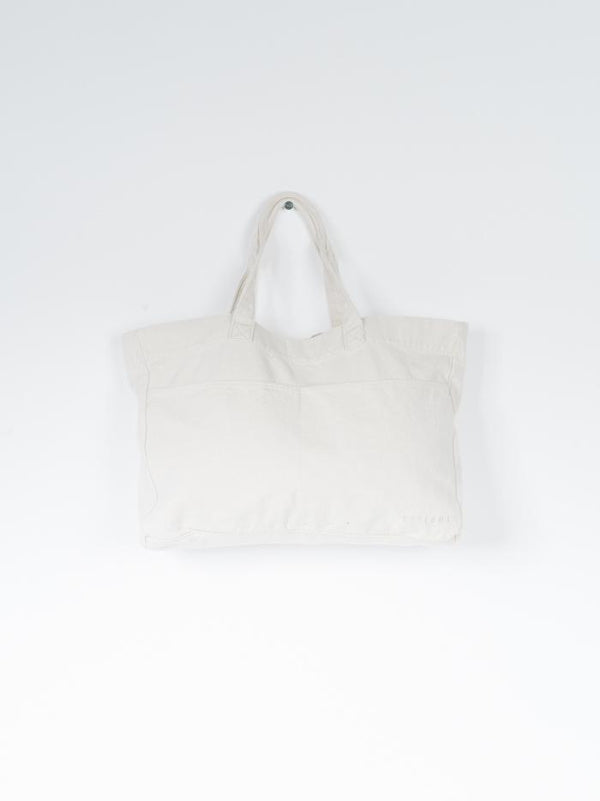 Minimal Thrills Oversized Tote - Unbleached