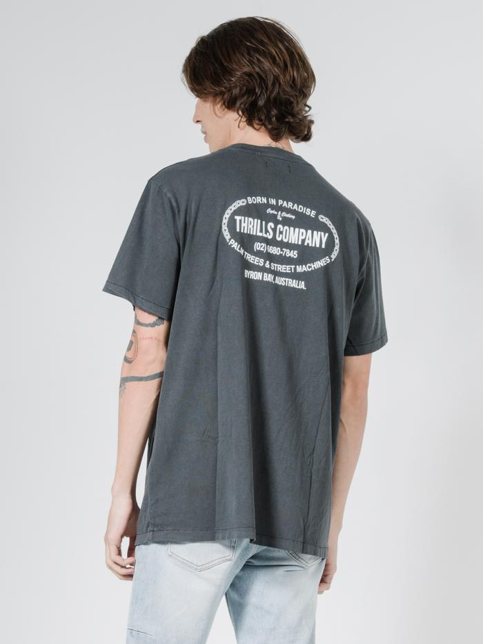 Thrills Garage Merch Fit Tee - Merch Black