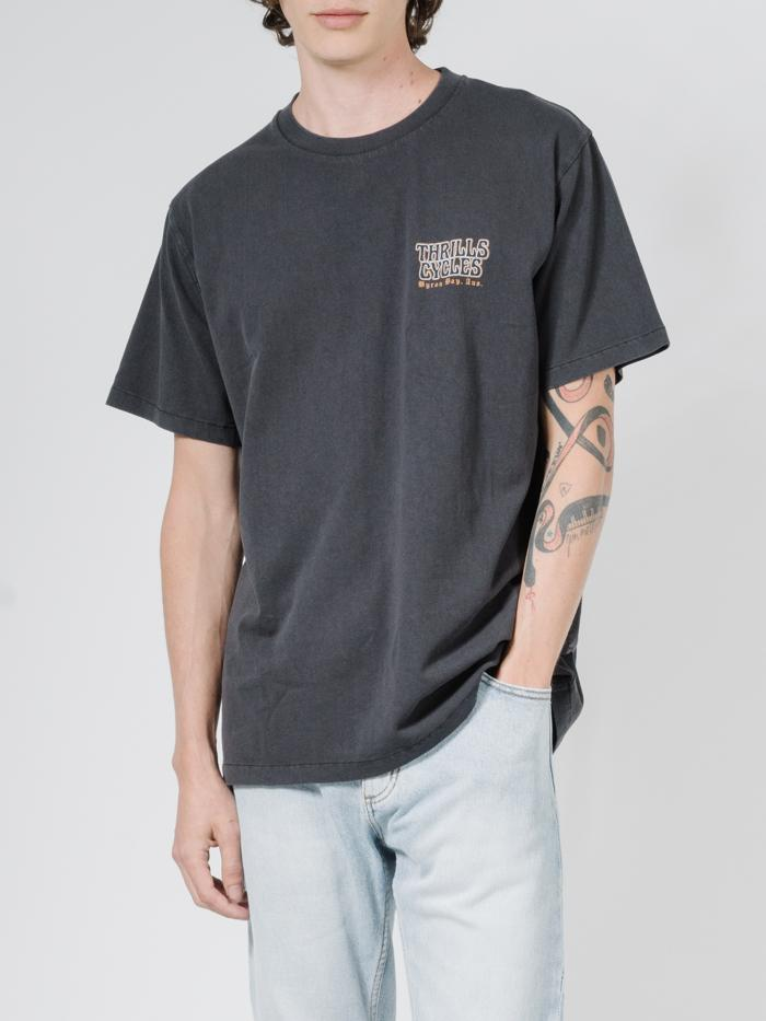Thrills Cycles Merch Fit Tee - Heritage Black