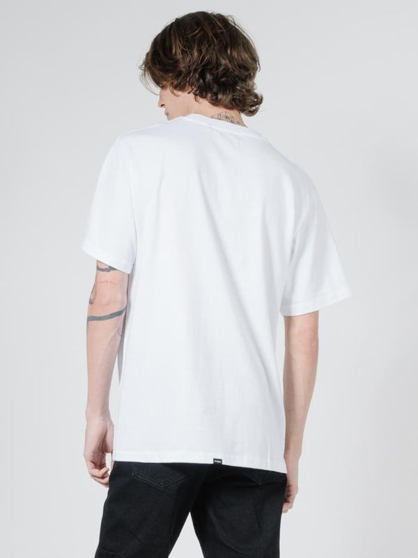 Alignment Merch Fit Tee - White