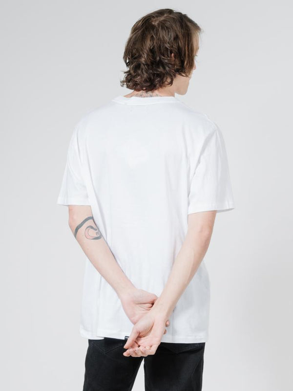 Palmed Thrills Company Merch Fit Tee - White