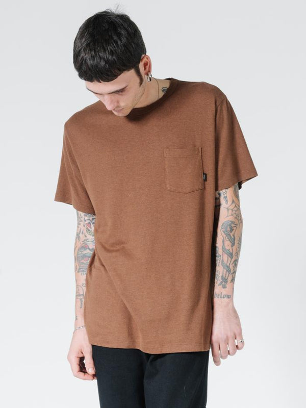 Endless Merch Fit Pocket Tee - Bison