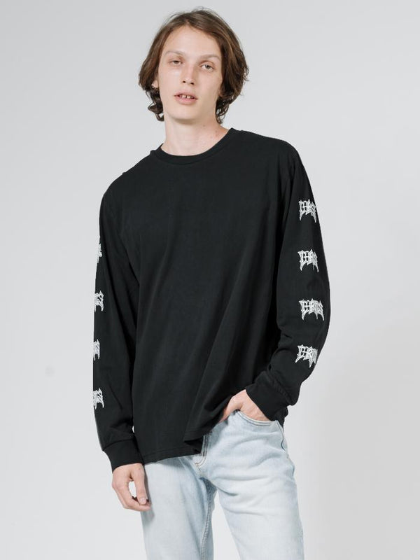 What We Believe Merch Fit Long Sleeve Tee - Black
