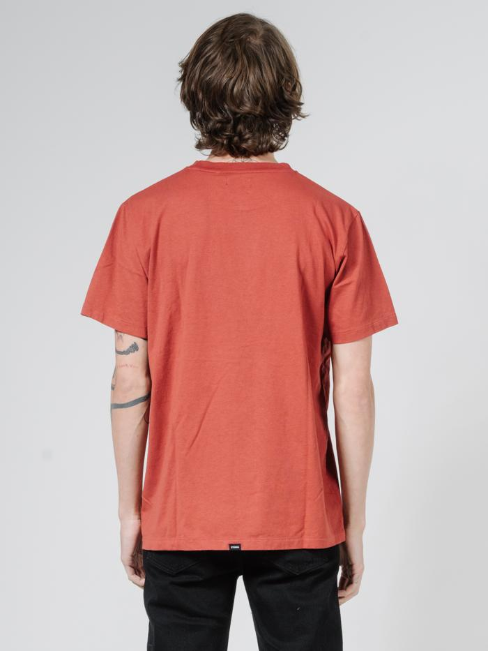 Traction  Merch Fit Tee - Redwood