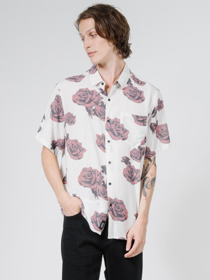 Tribute Short Sleeve Shirt - Dirty White