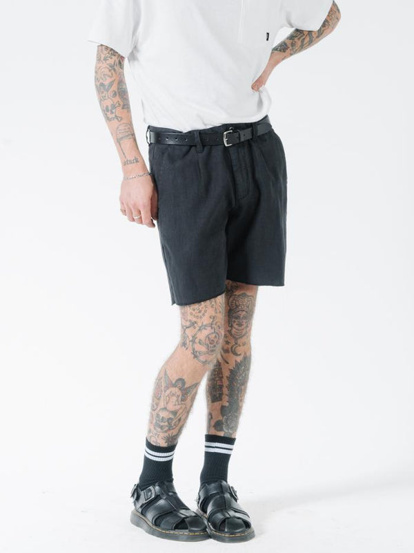 Endless Thrills Chopped Chino Short - Black