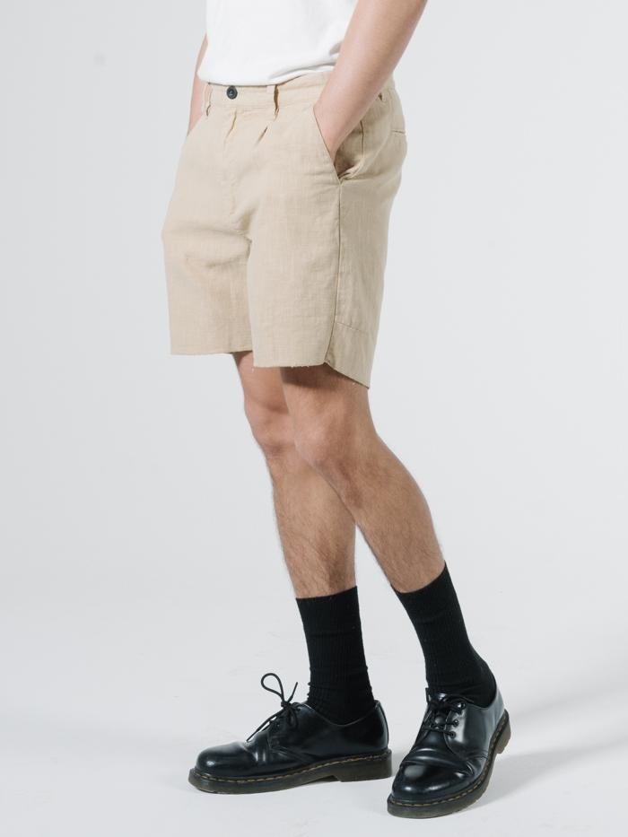 Endless Thrills Chopped Chino Short - Washed Tan
