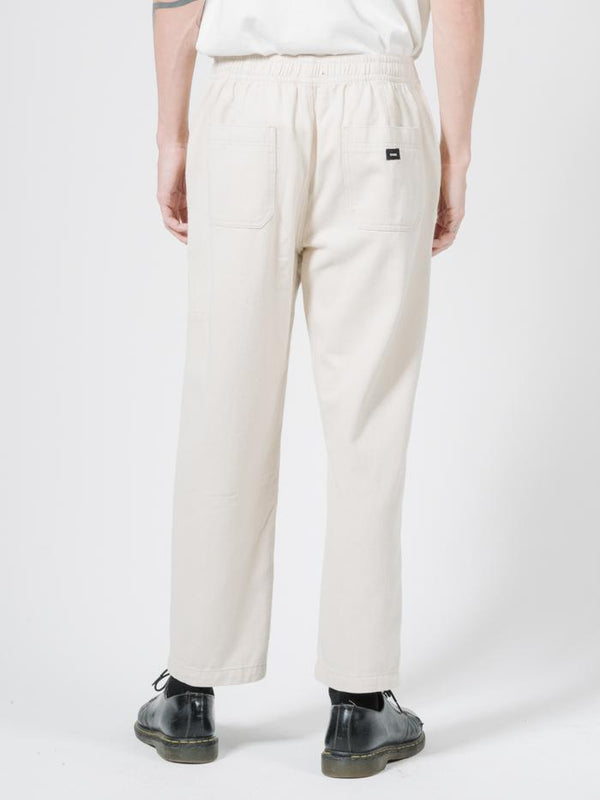 Dril Chopped Elastic Surf Pant - Unbleached