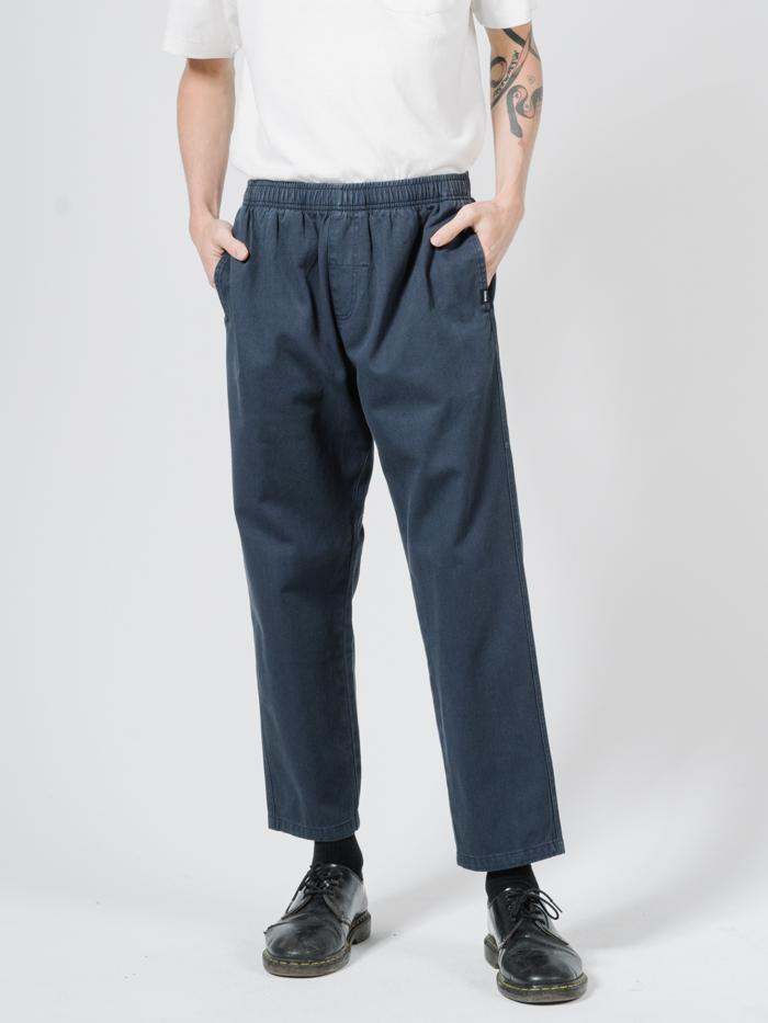 Minimal Thrills Work Chopped Elastic Surf Pant - Total Eclipse