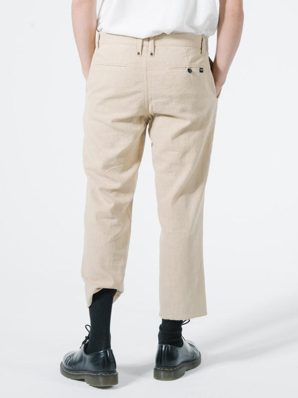Endless Thrills Chopped Chino - Washed Tan