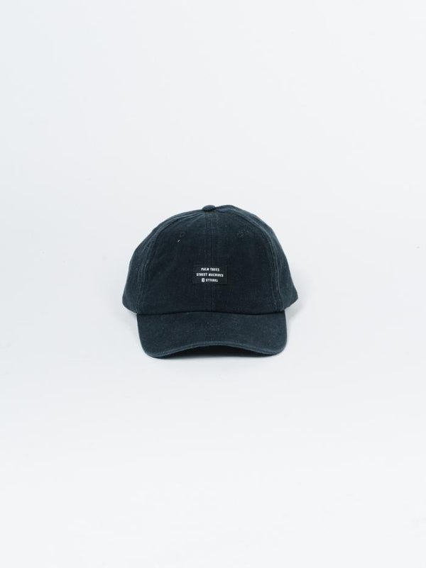 Workshop Cap - Washed Black
